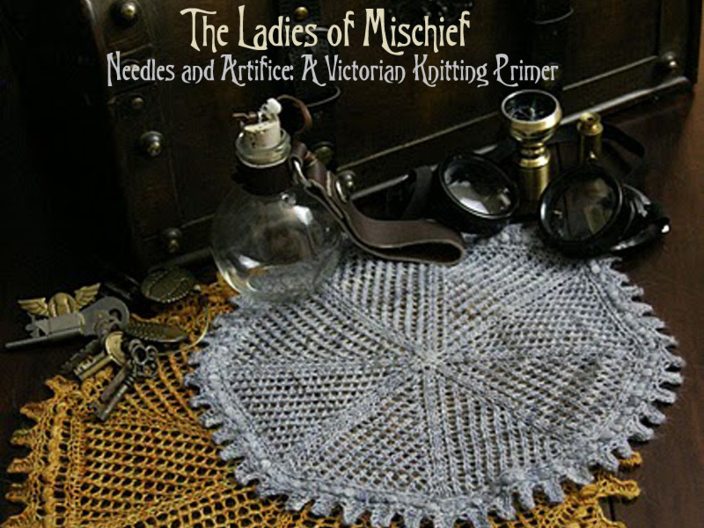 Needles and Artifice: A Victorian Knitting Primer's video poster
