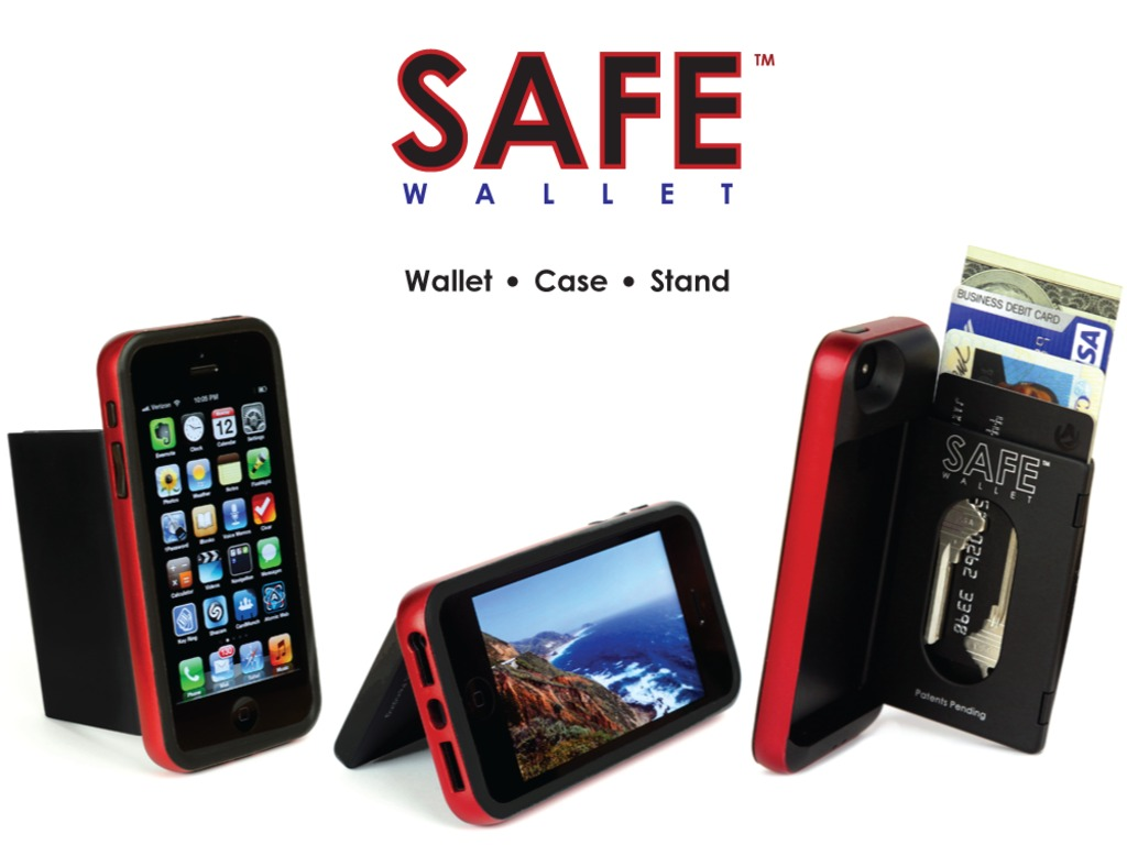 SAFE Wallet Case for iPhone 5 and iPhone 4/4s's video poster