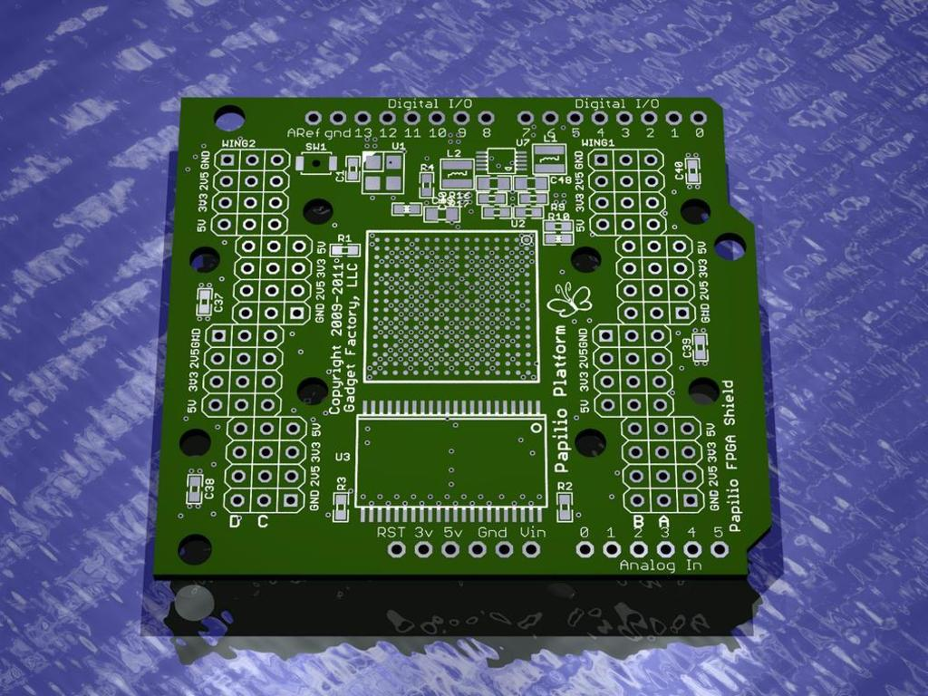 Papilio FPGA Shield for Arduino's video poster
