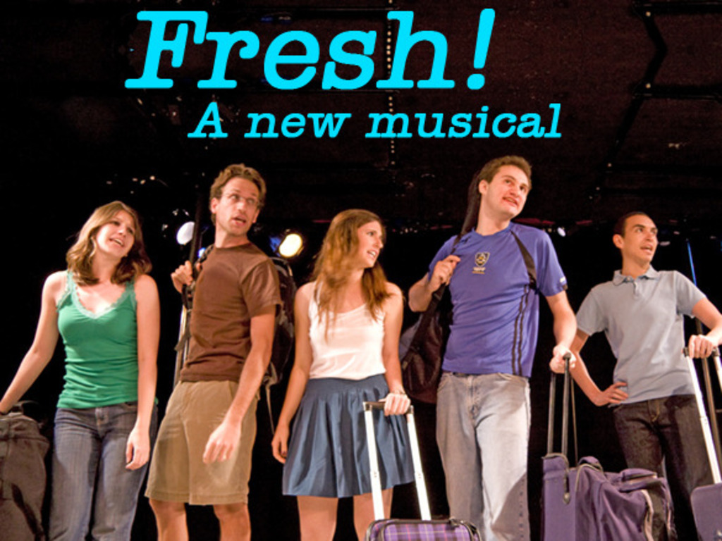 """""""Fresh!"""" A New Musical - Staged Reading in NYC's video poster"""