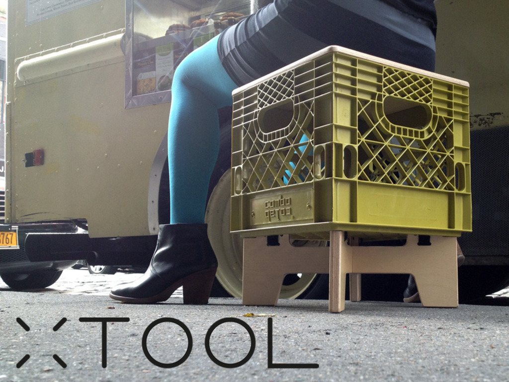 XTOOL: a crate-ful, stackable, storage, stool's video poster