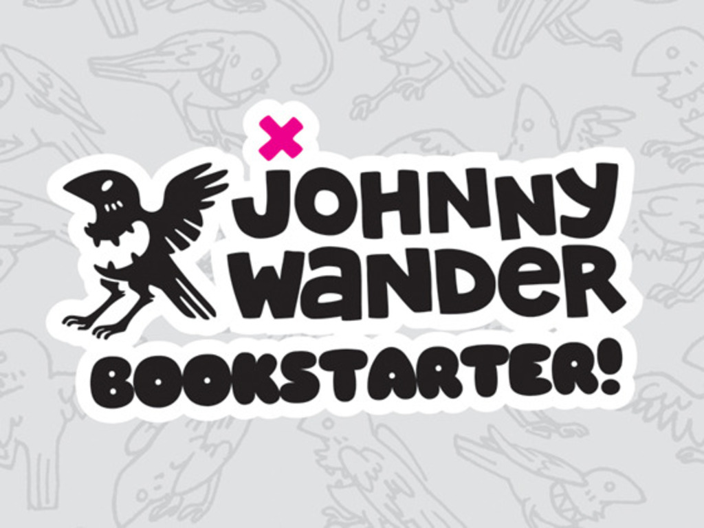 Johnny Wander Bookstarter!'s video poster