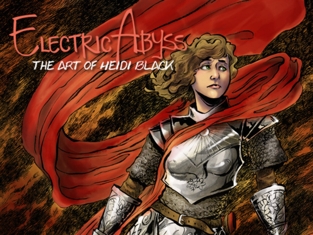 Electric Abyss: The Art of Heidi Black's video poster