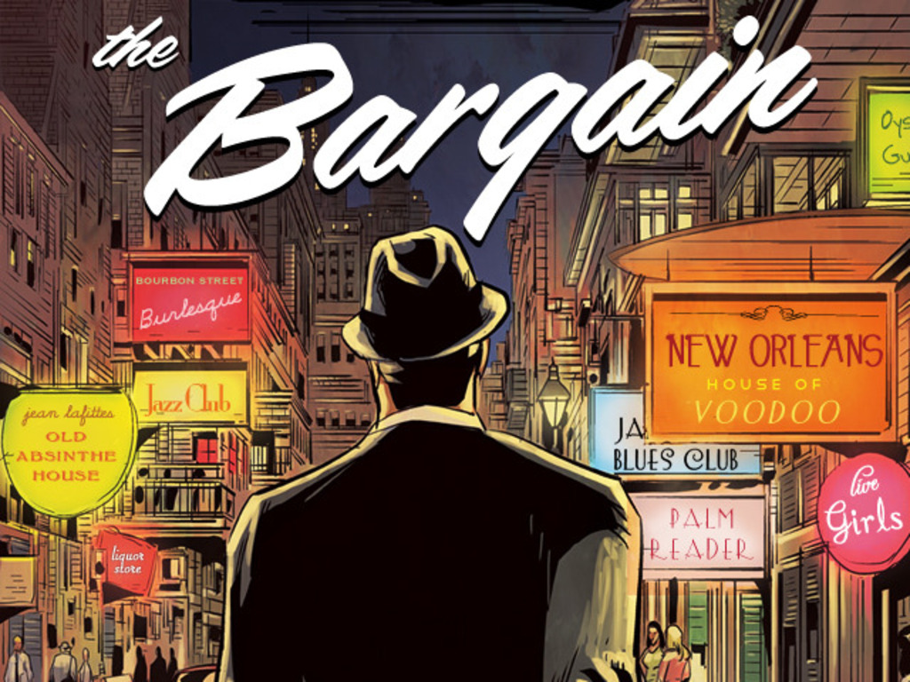 The Bargain: A Supernatural Graphic Novel Set In The 1950's's video poster