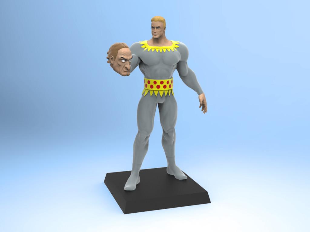Fletcher Hanks' Stardust the Super Wizard Figurine's video poster