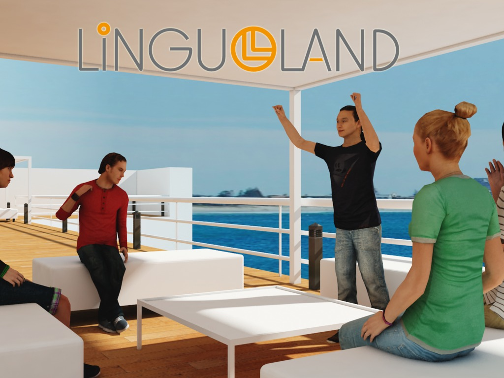 Linguo Land - Practice any language and meet new people's video poster