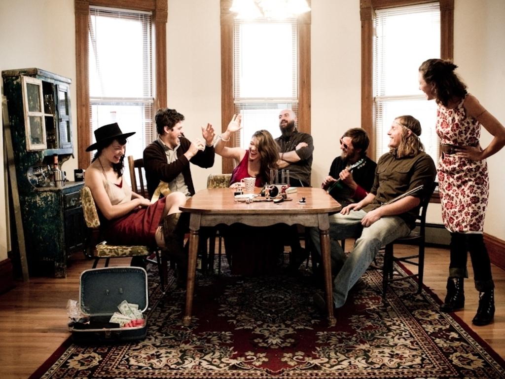 "Paper Bird's Fourth Album, ""Rooms""'s video poster"