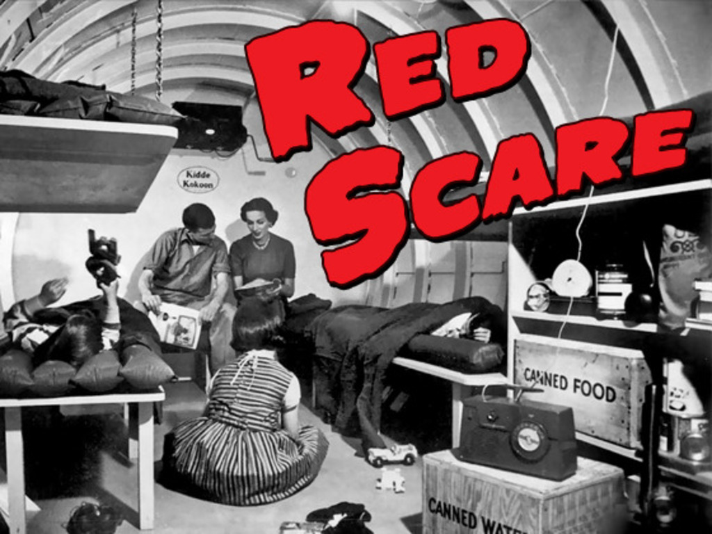 RED SCARE - A Comedic Murder Mystery Web Series's video poster