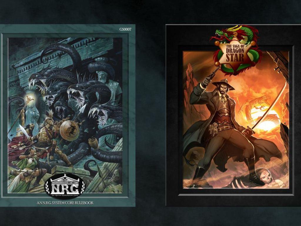The Saga of Dragon Star & N.R.G. Core Rulebook RPG's video poster
