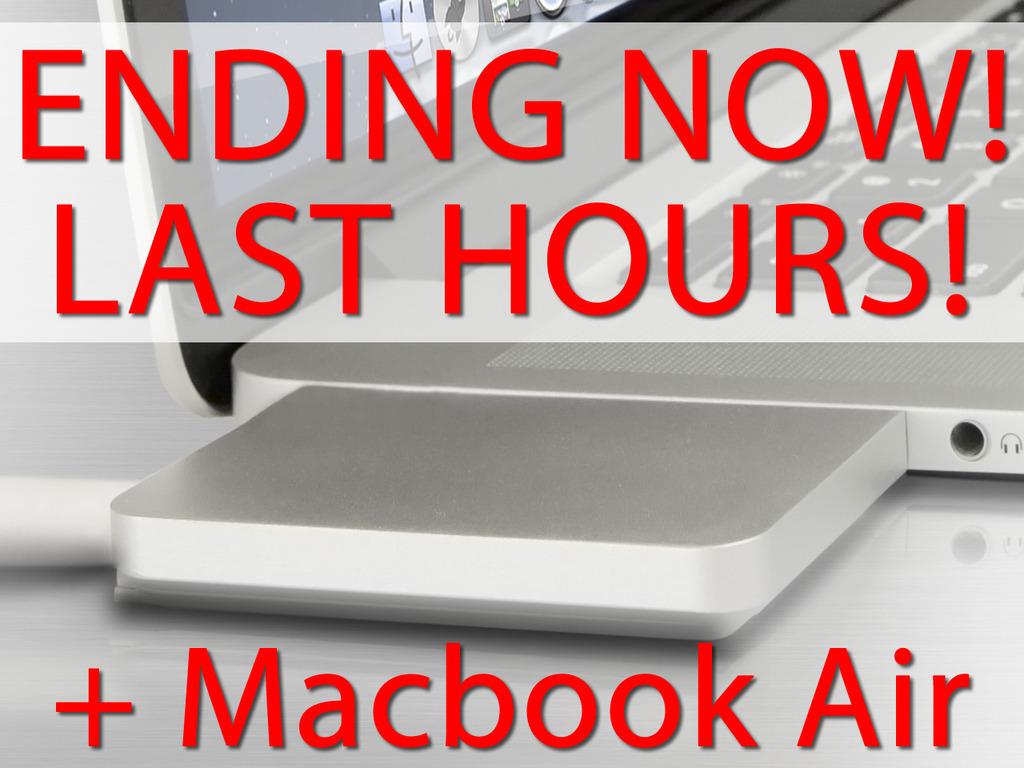 ZenDock - The best dock for your Macbook and MACBOOK AIR!'s video poster
