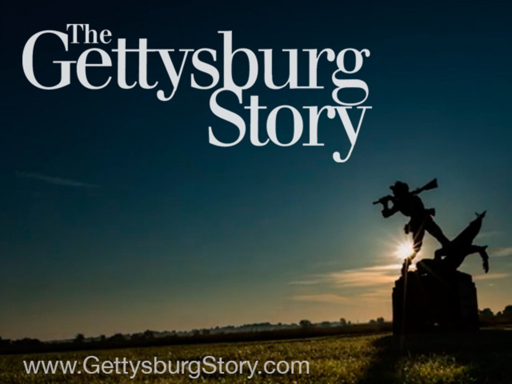The Gettysburg Story's video poster