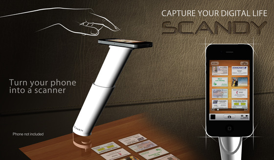 SCANDY Document Scanning Stand