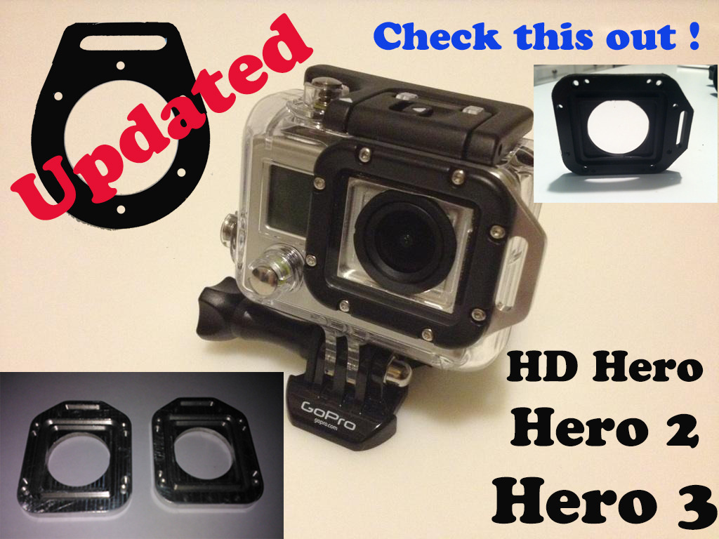 HD Hero, Hero 2 & 3 Tether, never lose your GoPro Camera !!'s video poster