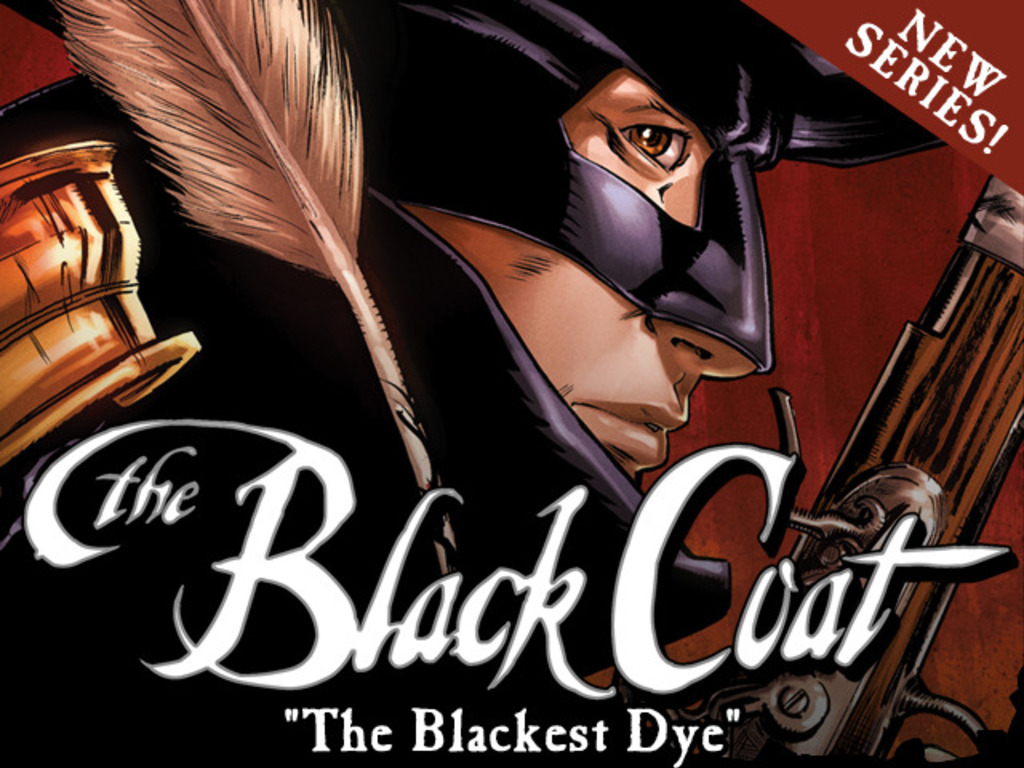 "The Black Coat: ""The Blackest Dye""'s video poster"