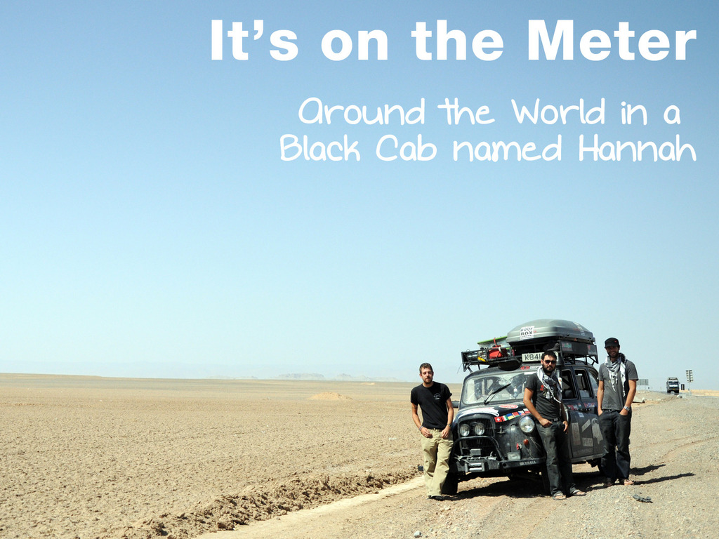 It's on the Meter photobook -Around the world in a Black Cab's video poster