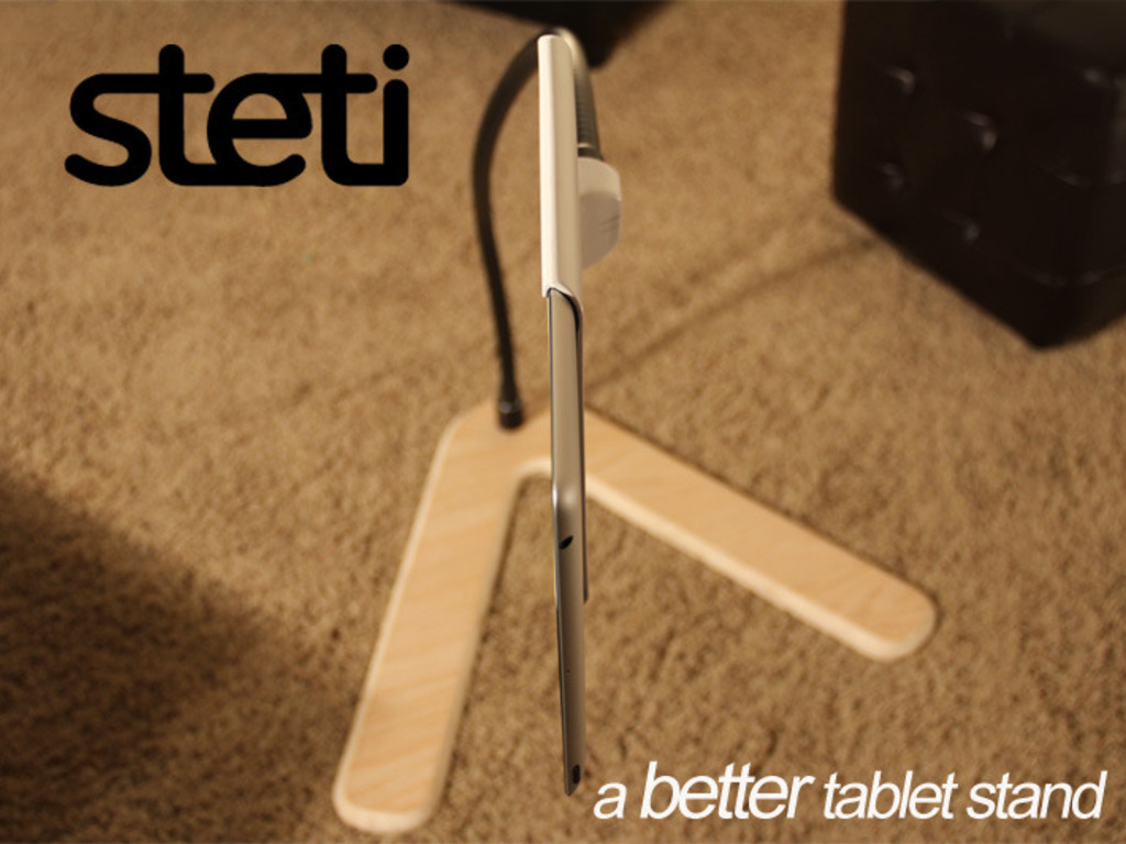 Steti iPad or Tablet Stand's video poster