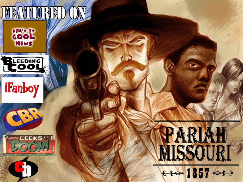 Pariah, Missouri : The Graphic Novel's video poster