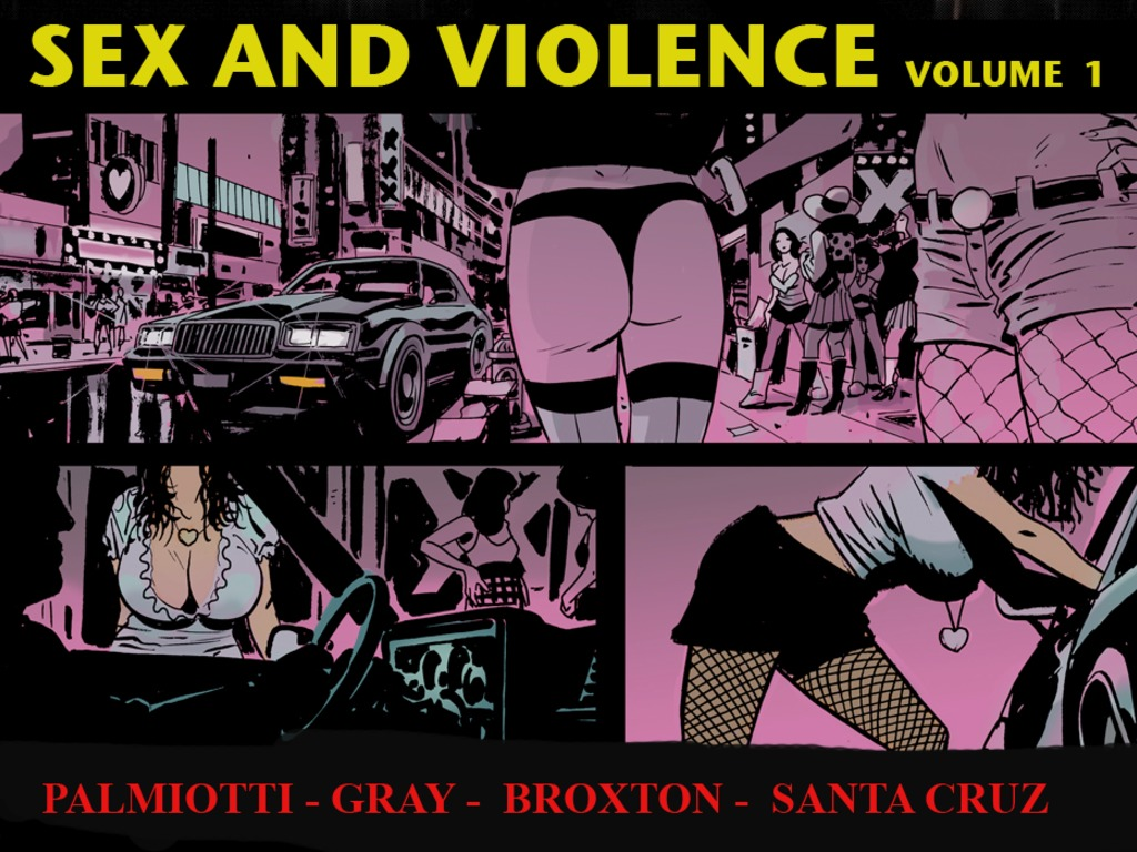 SEX AND VIOLENCE Volume 1's video poster