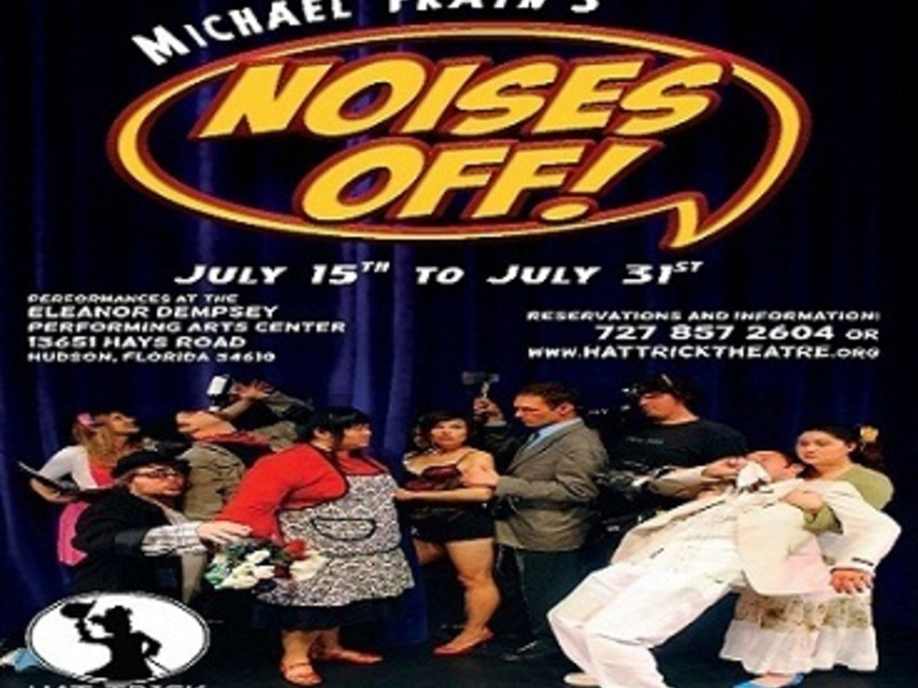 "Hat Trick Theatre Presents:  ""Noises Off""'s video poster"
