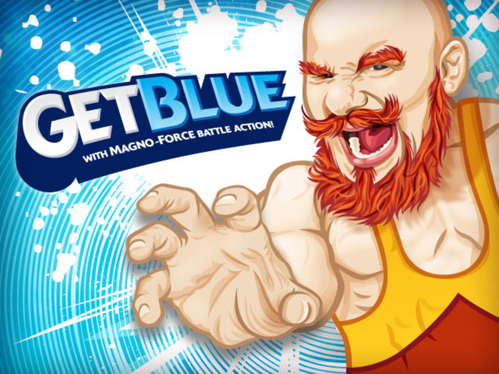Get Blue! With Magno Force Battle Action!'s video poster