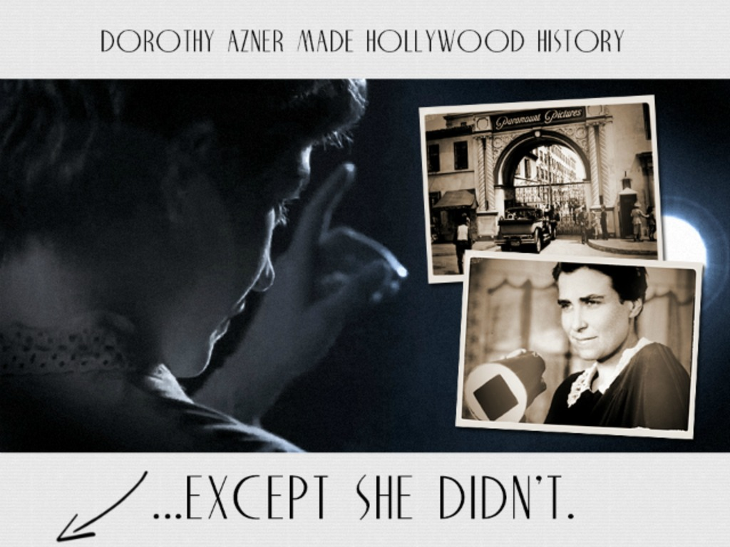 Sophisticated: The Untold Hollywood Story of Dorothy Arzner's video poster