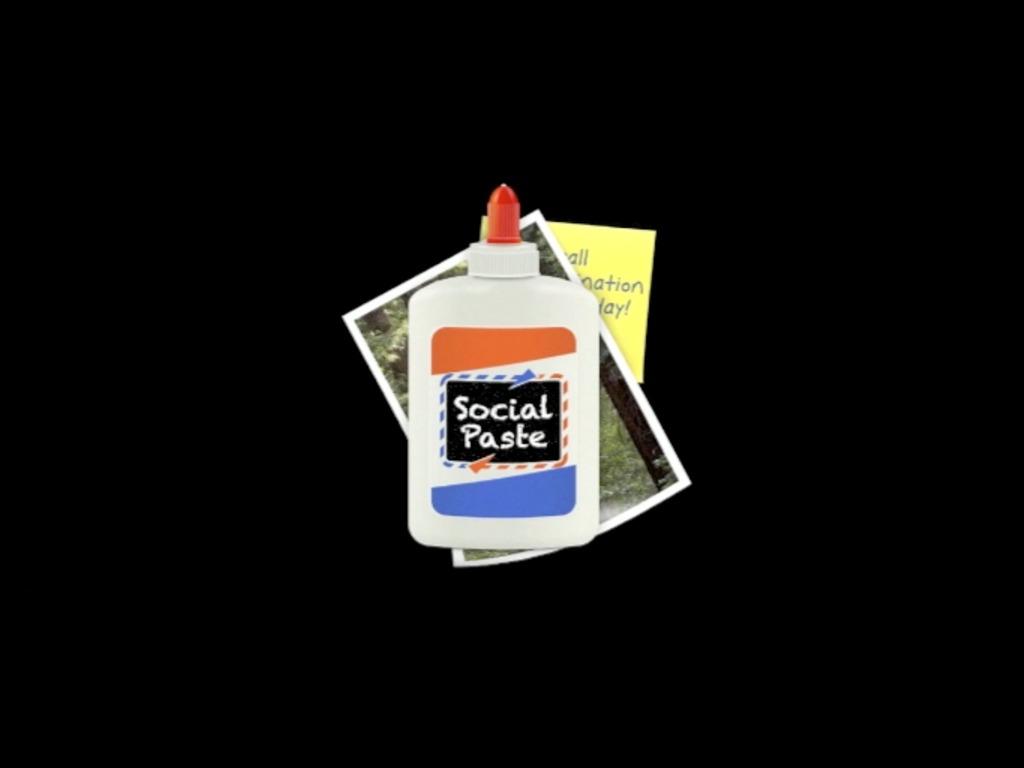 Social Paste's video poster