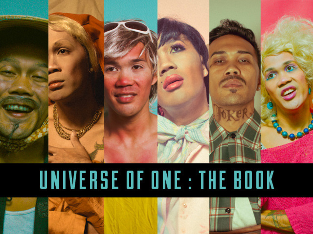 Universe of One: the Book's video poster