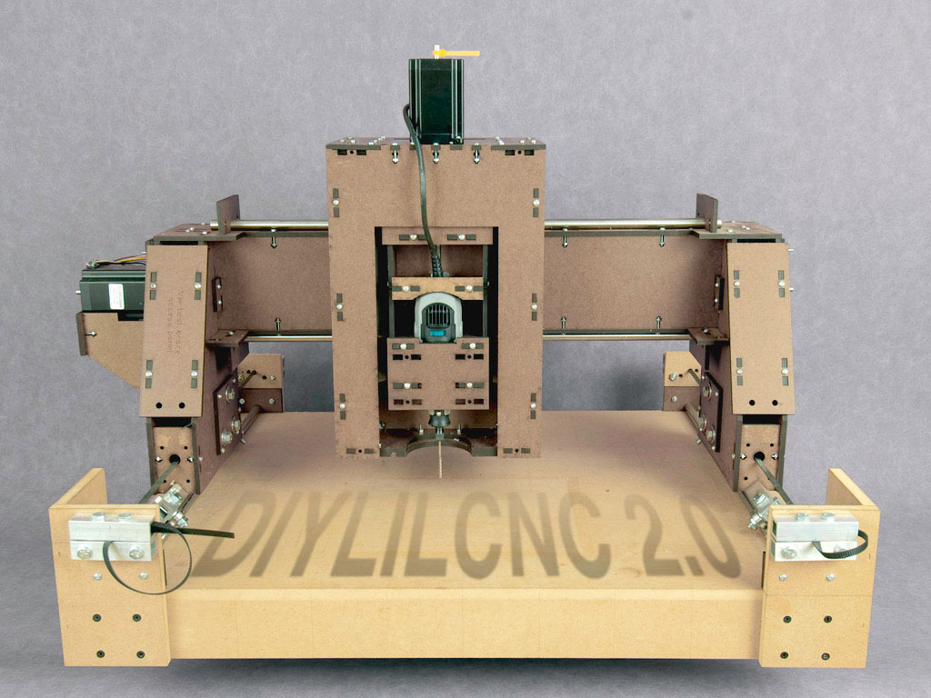 DIYLILCNC 2.0 - Open-source plans for a low-cost CNC mill.'s video poster