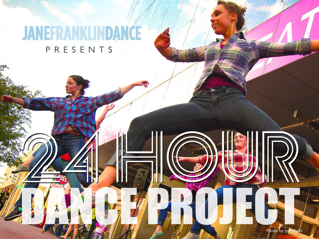 24 hour dance project - New Dance and Live Music's video poster