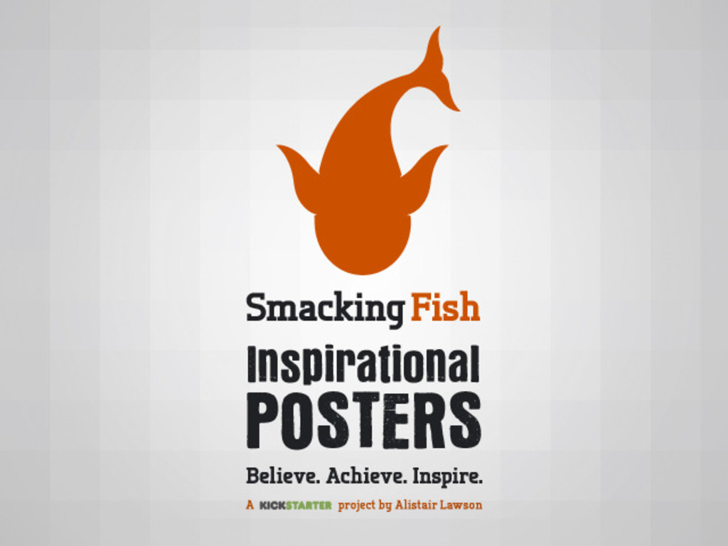 Smacking Fish - Inspirational Vision & Goal Posters's video poster