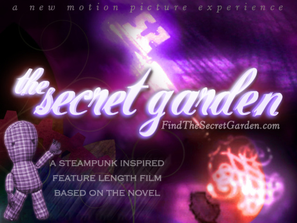 The Secret Garden: A Steampunk Motion Picture for All Ages's video poster