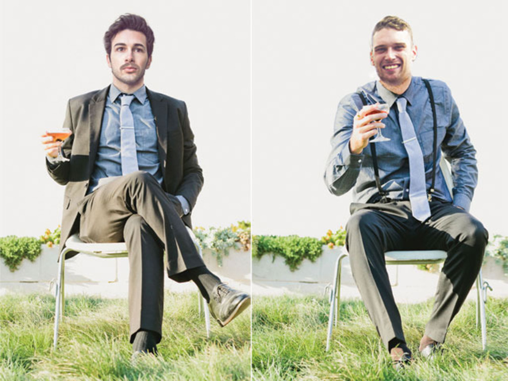 Vintage-Inspired Groomsmen Apparel's video poster