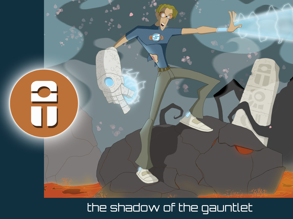 The Shadow of the Gauntlet's video poster