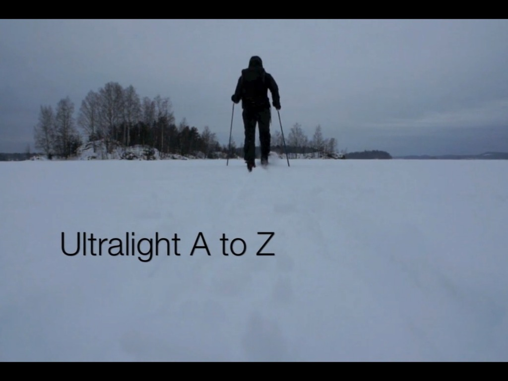 Ultralight A-Z - The Video Guide To Lightweight Backpacking's video poster