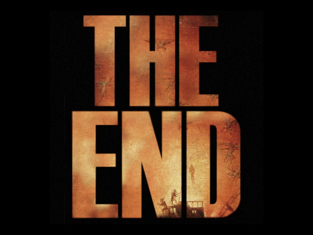 The End's video poster