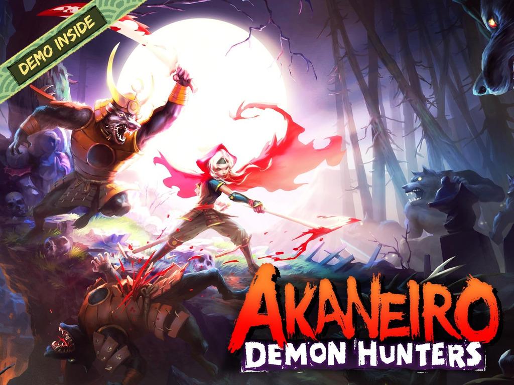 Akaneiro: Demon Hunters's video poster