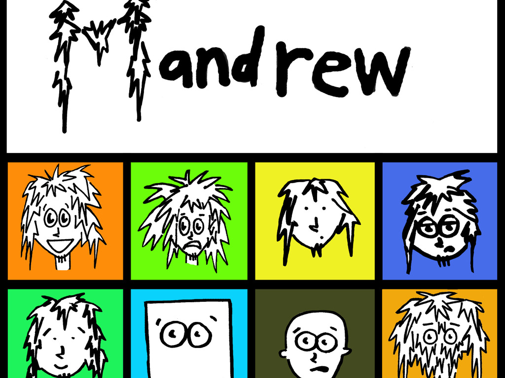 Andrew the Mandrew- Comics by Marian's video poster