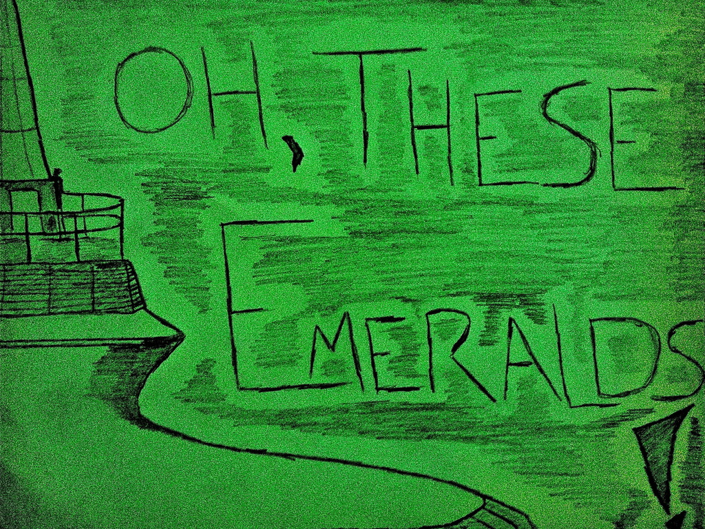 Oh, These Emeralds! - feature length silent horror/thriller!'s video poster