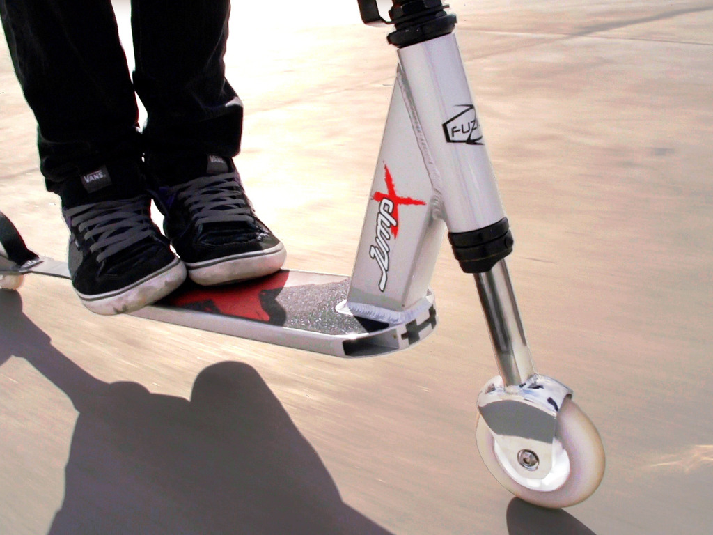 Join the scooter revolution! JumpX = big air & a smooth ride's video poster