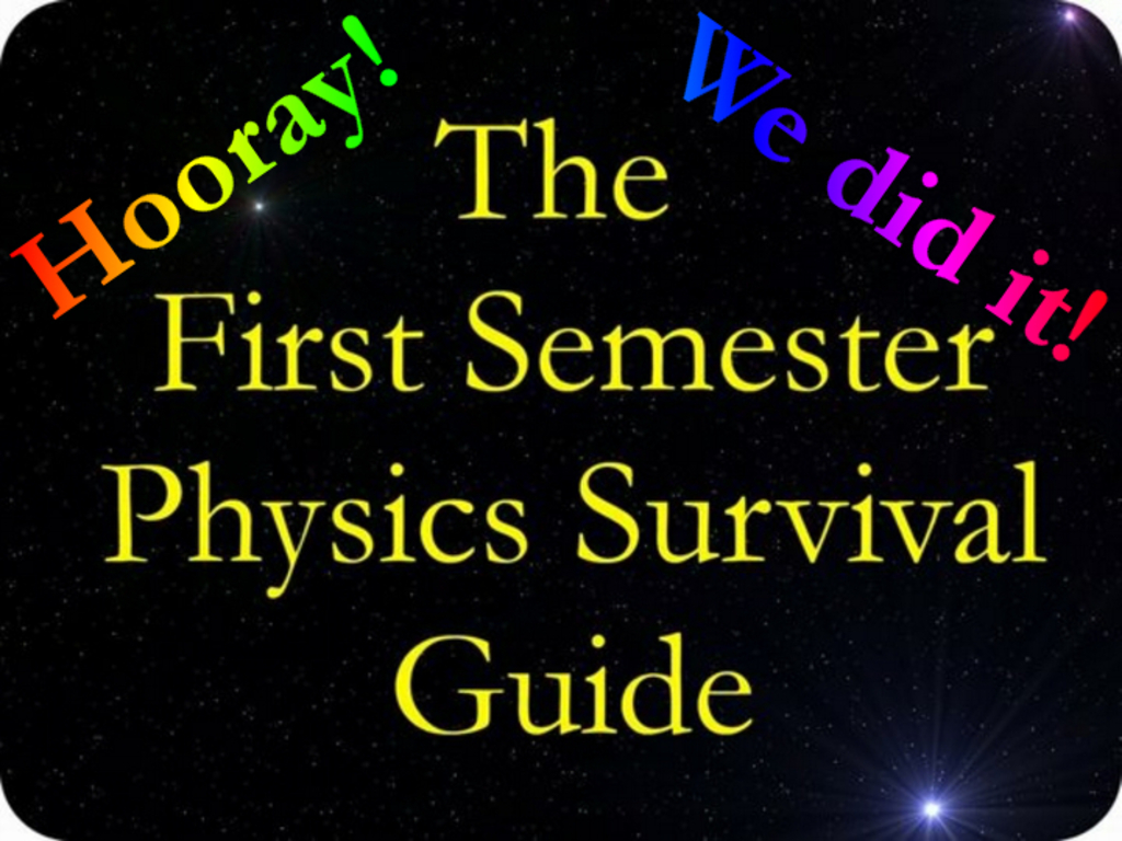 """Editing Needed For """"First Semester Physics Survival Guide""""'s video poster"""