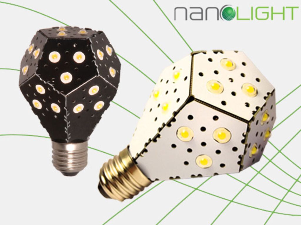 NanoLight - The world's most energy efficient lightbulb!'s video poster
