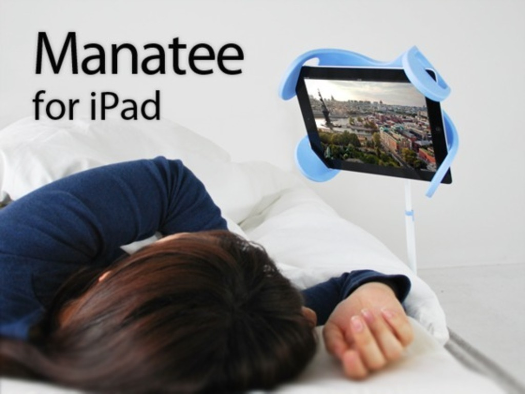 Manatee: The stand for iPad using in bed and sofa.'s video poster