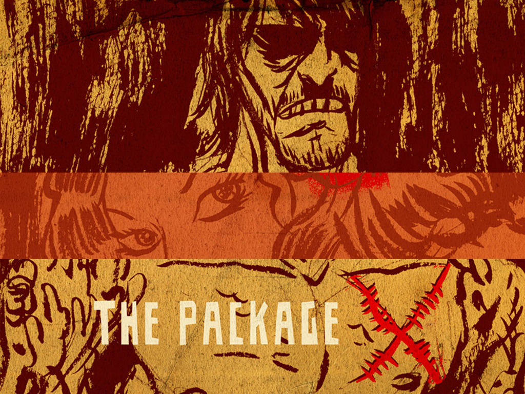 """The Package"", an Original Crime Graphic Novel's video poster"