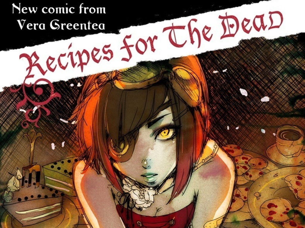 Recipes for the Dead: Issue 2 - An Indie Comic Book by Vera's video poster