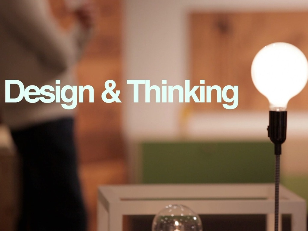 Design & Thinking - a documentary's video poster