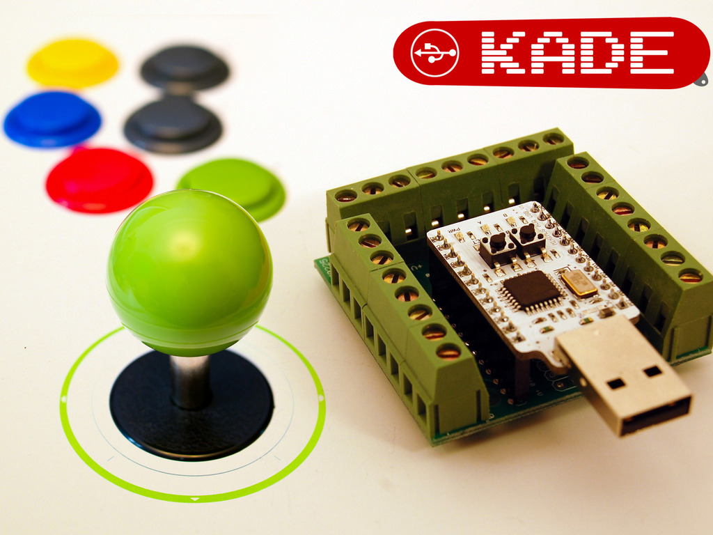 KADE - Connects arcade controls to computers and consoles's video poster