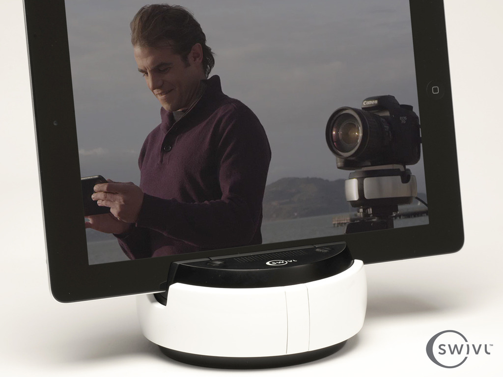 Swivl: Multipurpose robotic platform for mobile and DSLR's video poster