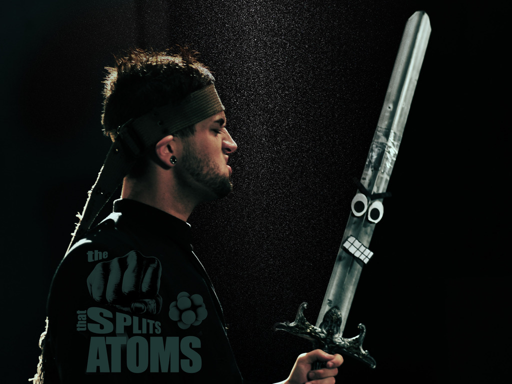 The Fist that Splits Atoms, post production's video poster