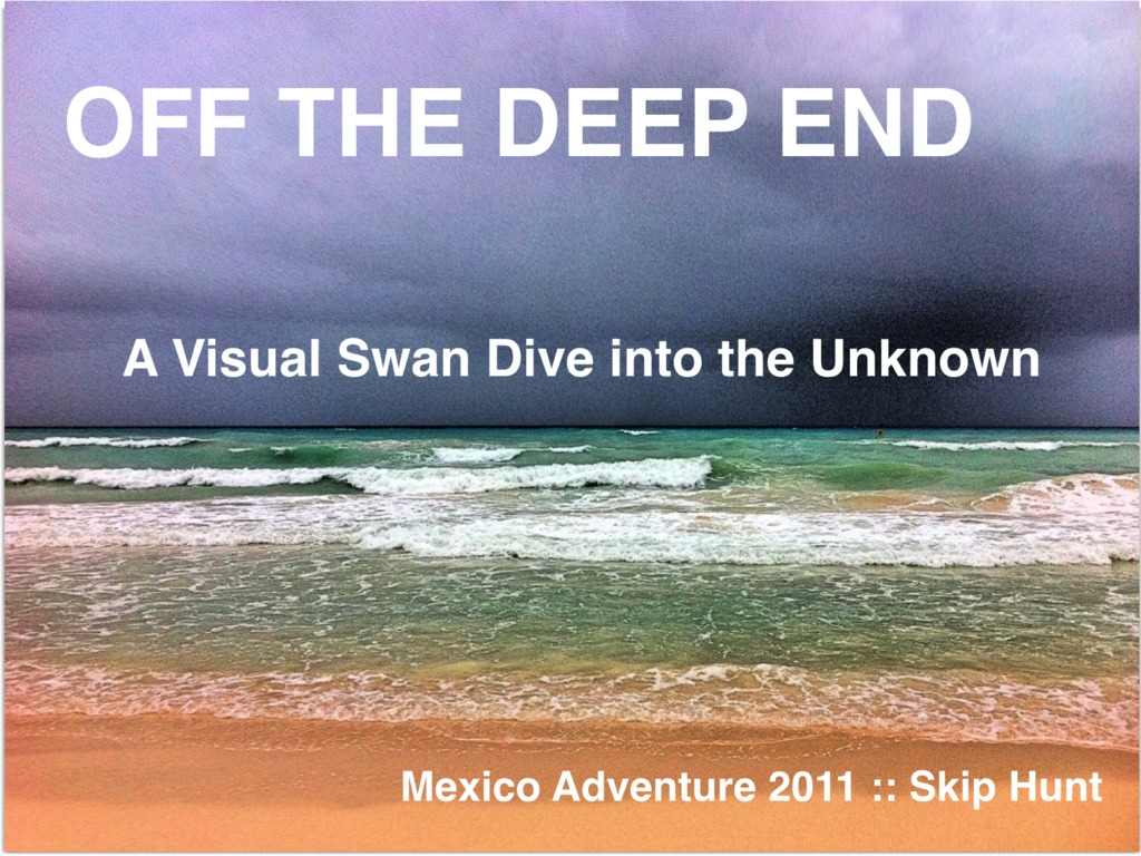 Off The Deep End :: A Visual Swan Dive into the Unknown's video poster