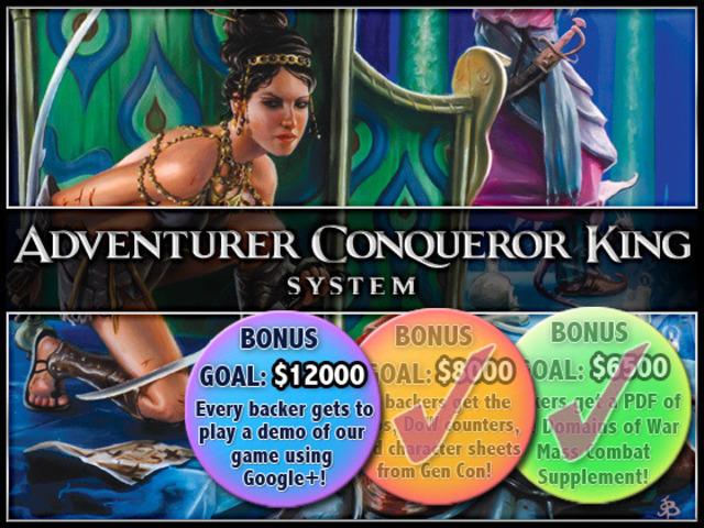 Adventurer Conqueror King By Autarch Kickstarter